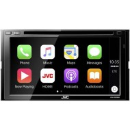 "JVC KW-V930BW 6.8"" Bluetooth Apple Car Play  DVD USB AUX NZ Tuners 3x Pre Outs"
