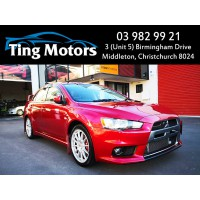 2008 Mitsubishi Lancer GSR Evolution 10 AWD SST Recaro Seat Premium Sound Low Kms and More with Easy Finance (12 Months On Road (ORC) $320 on top)