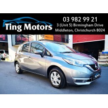 2016 Nissan Note X Pre-Crash Safety Lane Keep Idling Stop Smart Key and More (12 Months On Road (ORC) $320 on top)