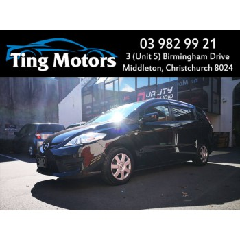 2009 Mazda Premacy 20CS 7 Seaters Low Kms Reverse Camera Corner Parking Sensors Power Slide Door and More (12 Months On Road (ORC) $320 on top)