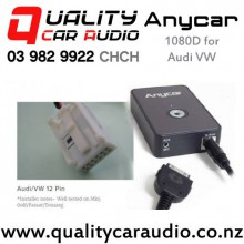 ANYCAR 1080D iPod Aux Integration for Audi/VW 12 pin with Easy Finance