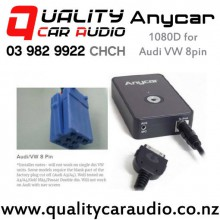 ANYCAR 1080D iPod Aux Integration for Audi/VW 8 pin with Easy Finance Fitted From $199
