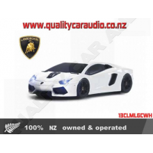 13CLMLGCWH Landmice Lambroghini Aventador White - Easy LayBy
