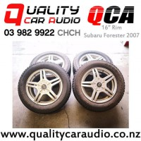 16 Rim Subaru Forester 2007 with Good Year Snow Tyre with Easy Payments