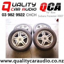 """16"""" Rim Subaru Forester 2007 with Good Year Snow Tyre with Easy Payments"""