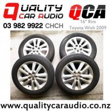 "16"" Rims for Toyota Wish with Bridgestone Tyre x4 with Easy Finance"