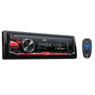 JVC KD-X241 USB AUX Apple/Android NZ Tuners 1x Pre Out Car Stereo with Easy Layb