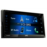 "JVC KW-V330BT 6.2"" Bluetooth DVD CD USB Iphone AUX NZ Tuners 3x Pre Outs"