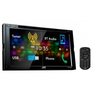 "JVC KW-V430BT 6.8"" Bluetooth DVD CD USB Iphone AUX NZ Tuners 3x Pre Outs"