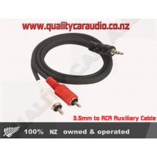 3.5mm to RCA Auxiliary Cable