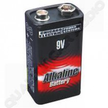 GP 9V alkaline battery