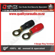4 Gauge Ring Terminal - Easy LayBy