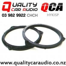"QCA-HYKISP 6"" / 6.5"" Hyundai KIA OEM Plastic Car Speaker Adapters (Pair)"