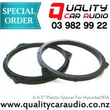 """6"""" / 6.5"""" Hyundai KIA OEM Plastic Speaker Spacers (Pair) with Easy LayBy"""