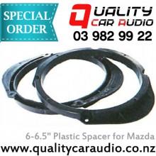"""6"""" / 6.5"""" Mazda OEM Plastic Speaker Spacers (Pair) with Easy LayBy"""