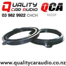 "QCA-NISSP 6"" / 6.5"" Nissan OEM Plastic Car Speaker Adapters (Pair)"