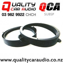 "QCA-SUBSP 6"" / 6.5"" Subaru OEM Front Door Plastic Car Speaker Adapters (Pair)"