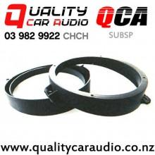 "QCA-SUBSP 6"" / 6.5"" Subaru OEM Front Door Plastic Car Speaker Adapters (Pair)"