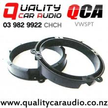 "QCA-VWSPT 6"" / 6.5"" VW OEM Plastic Car Speaker Thick Adapters (Pair)"