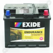 Exide-DIN55 Calcium/Calcium 12 Volts
