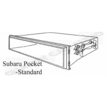 QCA-SUBP1 Single Din Pocket to Suit Various Subaru with Easy Layby