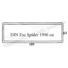 DIN Esc Spider 1996 on