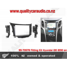 95-7357B Fitting Kit Hyundai i30 2010 on D Din - Easy LayBy