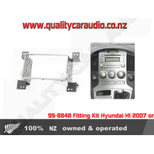 95-8848 Fitting Kit Hyundai H1 2007 on Double DIN - Easy LayBy