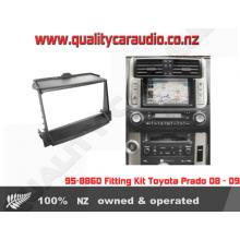 95-8860 Fitting Kit Toyota Prado 08 09 Double DIN - Easy LayBy