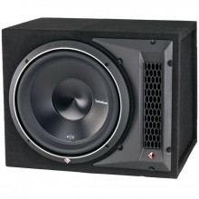 "Rockford Fosgate P3-1X12 12"" Dual 2 Ohm 1200W Subwoofer Enclosure with Easy Payments"
