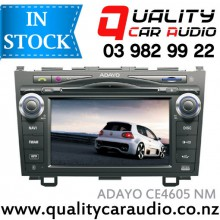 """Adayo CE4605 Honda CRV 2007 - 2010 7"""" Navigation (No Map) Bluetooth DVD USB AUX NZ Tuners with Easy Layby"""