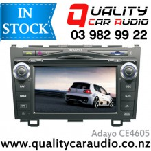 "Adayo CE4605 Honda CRV 2007 - 2010 7"" Navigation (incl Map) Bluetooth DVD USB AUX NZ Tuners with Easy Layby"
