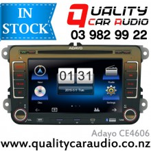 "Adayo CE4606 VOLKSWAGON 7"" Bluetooth DVD ipod USB AUX NZ Tuners with Easy Layby"