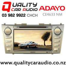 Adayo CE4633 for Toyota Camry Navigation (Not Incl Map) Bluetooth DVD USB AUX NZ Tuners Car Stereo with Easy Finance