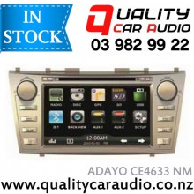 ADAYO CE4633 for Toyota Camry Navigation (Not Incl Map) Bluetooth DVD USB AUX NZ Tuners with Easy Layby