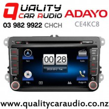 Adayo CE4KC8 Navigation(map not incl) Bluetooth DVD IPOD USB AUX Car Stereo for Volkswagen with Easy Finance