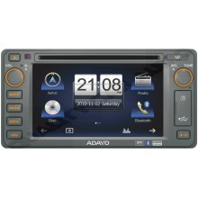 ADAYO CE4KM6 (incl Sygic Map) for Toyota with 200mm Wide Front Panel with EASY LayBy