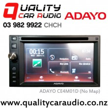 "ADAYO CE4M01D 6.2"" Navigation Bluetooth DVD USB  Head Unit with Basic Installation"