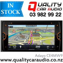 """Adayo CE4MW9 2000 on Toyota 6.75"""" Navigation (incl Map) Bluetooth USB AUX SD NZ Tuners 2x Pre Outs with Easy LayBy"""