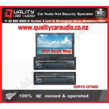 """ADAYO CE7M01 7"""" DVD USB GPS BT AUX UNIT With Map - Easy LayBy"""