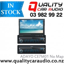 """ADAYO CE7M01 7"""" Navigation (not incl Map) Bluetooth DVD USB AUX NZ Tuners with Easy LayBy"""