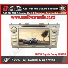 """ADAYO CE4633 for TOYOTA CAMRY 8"""" NAVIGATION BLUETOOTH DVD USB IPOD AUX TUNERS"""