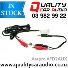 AERPRO AFD2AUX AUX INPUT ADAPTOR LEAD FOR FORD TERRITORY BA - BF with Easy LayBy