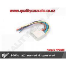 Aerpro AP2001 Subaru Nissan ISO Wiring Harness - Easy LayBy
