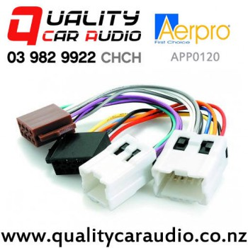 Aerpro APP0120 Harness ISO to Nissan 1995 on with Easy Finance on