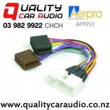 Aerpro APP053 Harness ISO to Ford Falcon AU 2000 to 2002 with Easy Finance