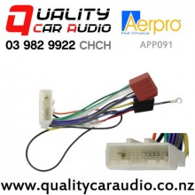 Aerpro APP091 ISO Harness to Subaru Nissan from 2007 with Easy Finance
