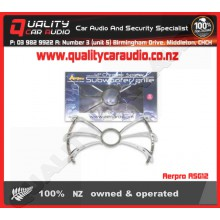 Aerpro ASG12 Chrome spider subwoofer grille - Easy LayBy