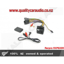 Aerpro AXPGX011 HARNESS AUX IN FOR CITROEN PEUGEOT - Easy LayBy