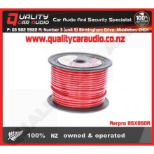Aerpro BSX850R 8 awg power cable 50m red - Easy LayBy